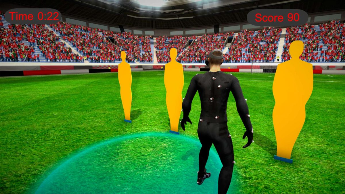 VR Football Training Simulator