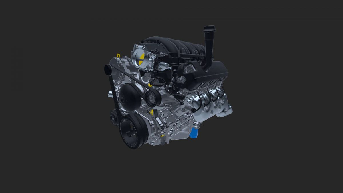 Powertrain Chevrolet V8 Engine Demonstration